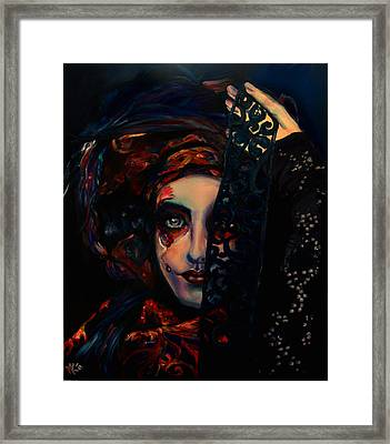 Queen Of Darkness Framed Print