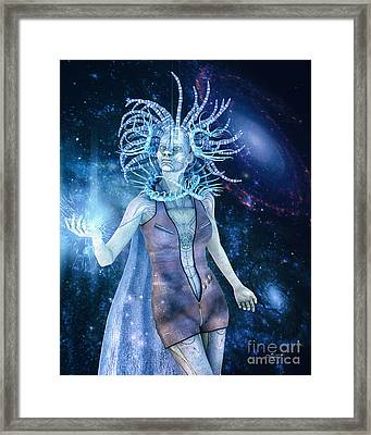 Queen Of Distant Galaxies Framed Print
