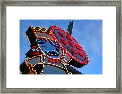Queen Of Pies Framed Print