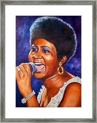 Queen Of Soul Framed Print