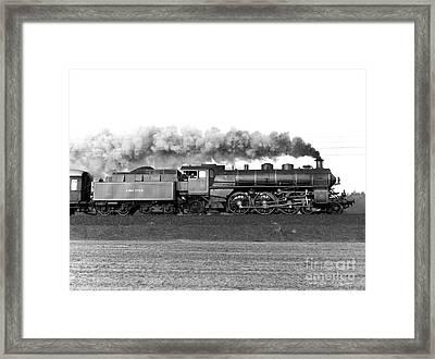 Queen Of Steam Framed Print