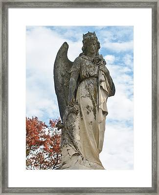 Queen Of The Angels Framed Print