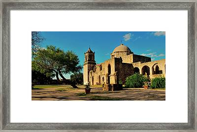 Queen Of The Missions Framed Print by Gregory Israelson