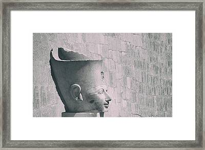 Queen Of The Nile.. Framed Print by A Rey