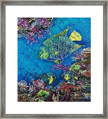 Queen Of The Sea Framed Print by Sue Duda