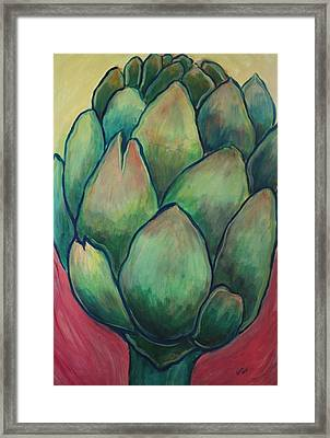 Queen Of Thistles Framed Print