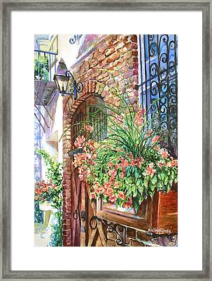 Queen Street Textures Framed Print by Alice Grimsley