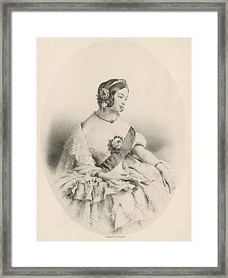 Queen Victoria (1819-1901) Framed Print