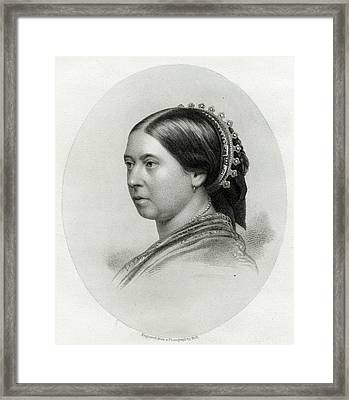 Queen Victoria  A Characteristic Framed Print