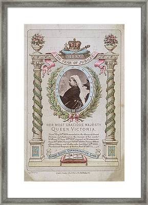 Queen Victoria Framed Print by British Library