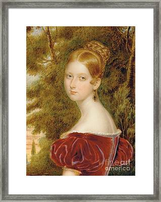 Queen Victoria Framed Print by Henry Collen