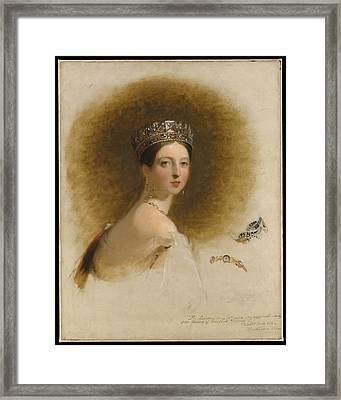 Queen Victoria Framed Print