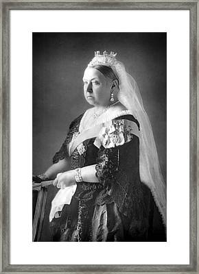 Queen Victoria Framed Print by Unknown