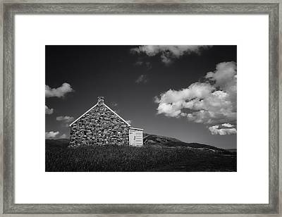 Queen's Battery Framed Print