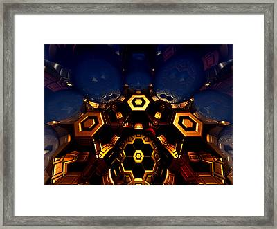 Queen's Chamber Framed Print