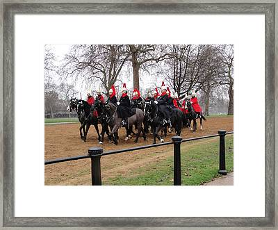 Framed Print featuring the photograph Queen's Guard by Tiffany Erdman