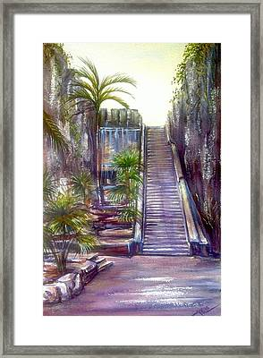 Queen's Staircase Framed Print