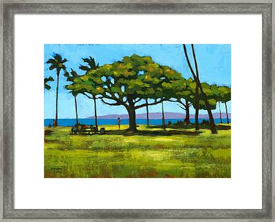 Queen's Surf Weekend Framed Print by Douglas Simonson