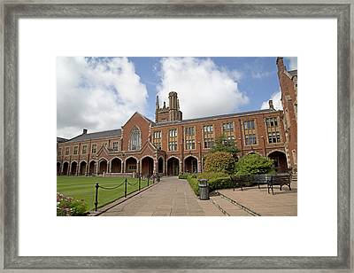 Queen's University Belfast Ireland Framed Print by Betsy Knapp
