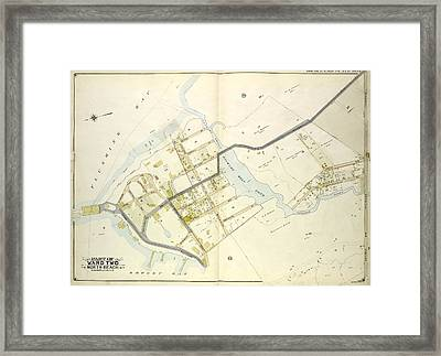 Queens, Vol. 2, Double Page Plate No. 19 Part Of Ward Two Framed Print by Litz Collection
