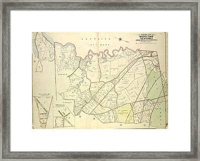 Queens, Vol. 2, Double Page Plate No. 28 Part Of Ward Two Framed Print