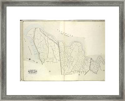 Queens, Vol. 2, Double Page Plate No. 49 Part Of Ward Two Framed Print by Litz Collection