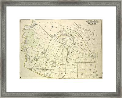 Queens, Vol. 3, Double Page Plate No. 19 Part Of Ward Three Framed Print