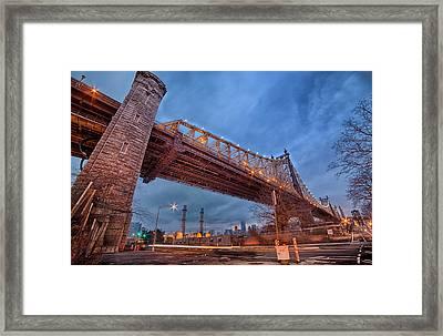 Queensboro Bridge Framed Print by Emmanouil Klimis