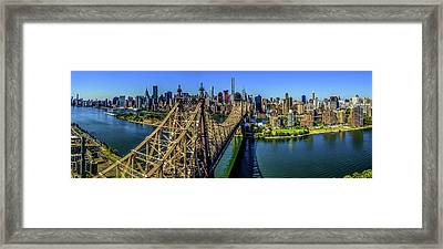 Queensboro Bridge, Midtown Manhattan Framed Print