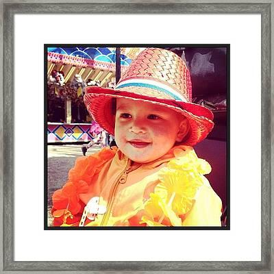 #queensday 2013 Framed Print