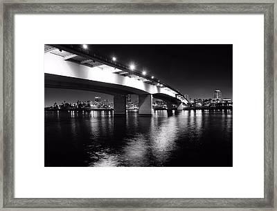 Queensway Bridge Framed Print by Jenny Hudson