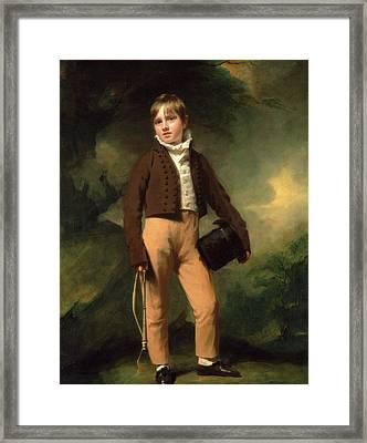 Quentin Mcadam, Henry Raeburn, 1756-1823 Framed Print by Litz Collection