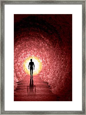 Quests End Redux Framed Print