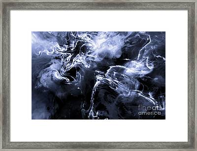 Quetzalcoatlus Dragon Of The Clouds Framed Print by Petros Yiannakas