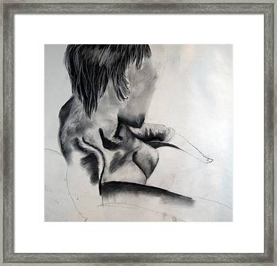 Quick Study  Framed Print by Corina Bishop