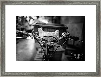 Quick To The Catmobile Framed Print by Dean Harte