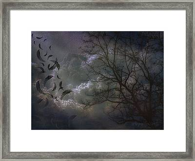 Quiet After The Storm Framed Print