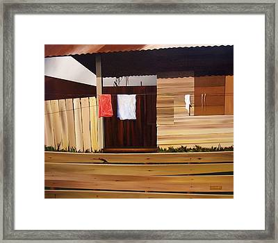 Quiet Afternoon Framed Print by Laurend Doumba