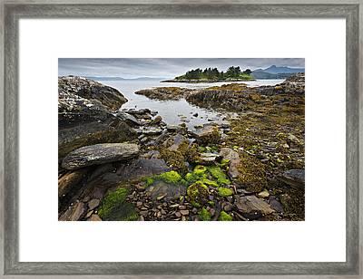 Quiet Bay Framed Print