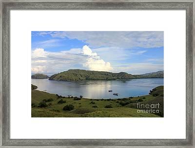 Quiet Bay Framed Print by Sergey Lukashin
