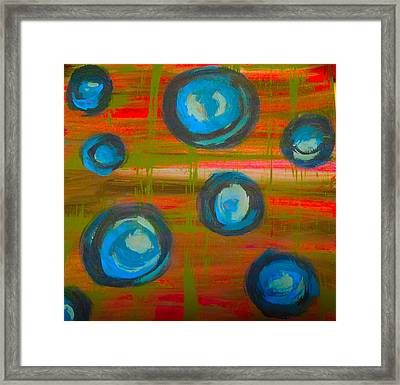 Quiet Chaos Framed Print by Jennifer Stone