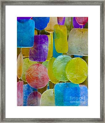 Quiet Chime Framed Print
