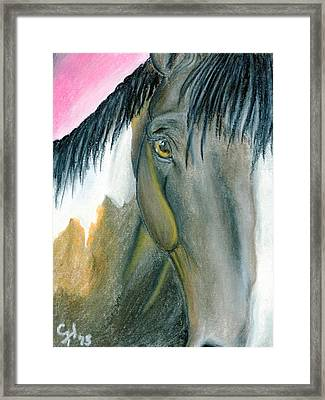 Quiet Framed Print by Christian Henderson