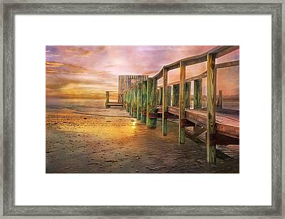 Quiet Colors Framed Print by Betsy C Knapp