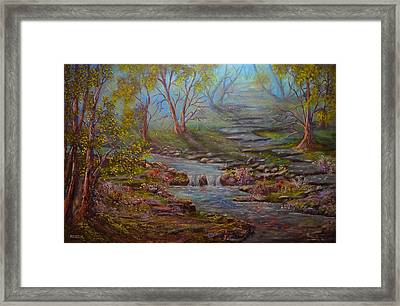 Quiet Countryside Framed Print