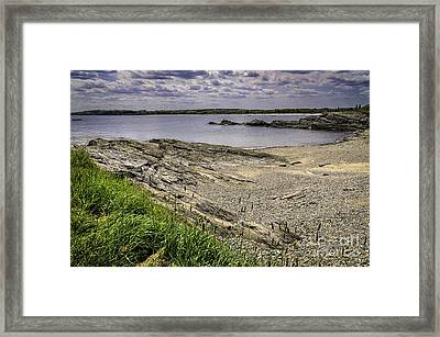 Framed Print featuring the photograph Quiet Cove by Mark Myhaver