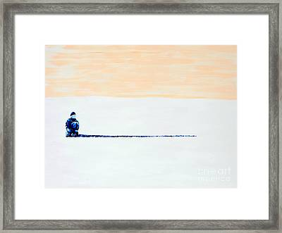 Quiet Framed Print