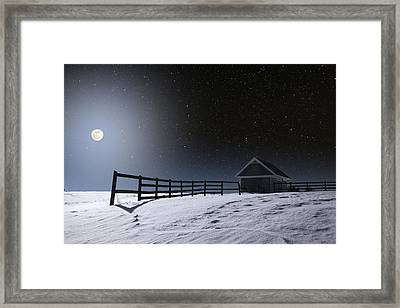 Framed Print featuring the photograph Quiet Evening by Larry Landolfi