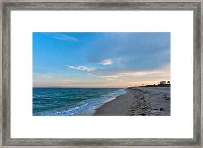 Quiet Evening Framed Print