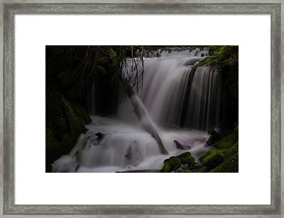 Quiet Falls Framed Print